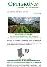 Optigreen-Newsletter Printemps-Été 2020