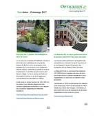 Optigreen-Newsletter Printemps 2017